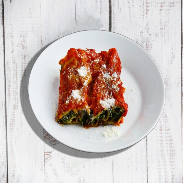 Goat Cheese and Spinach Lasagna